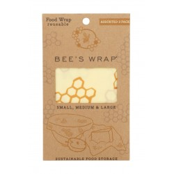 Bee's wrap 3-pack Assorted (Starter Set)